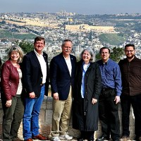 'Detained Congressmen's Visit Focused on Jerusalem, Sovereignty, Security