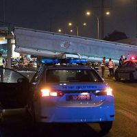 Bnei Brak Pedestrian Bridge Collapses on Truck Killing Driver