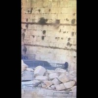 Divine Rage? Kotel Stone Falls on Reform Prayer Platform [Video]