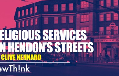 Religious services on Hendon's streets featured