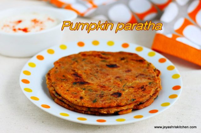 Paratha recipe - Indian flat bread