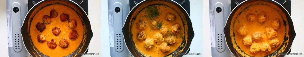 Gulab jamun kofta curry