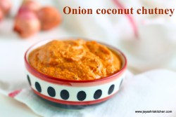 onion coconut chutney