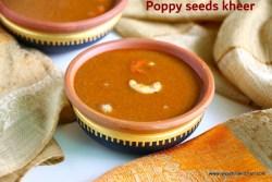 Poppy seeds kheer