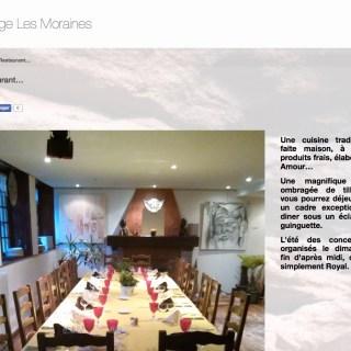 Auberge Les Moraines