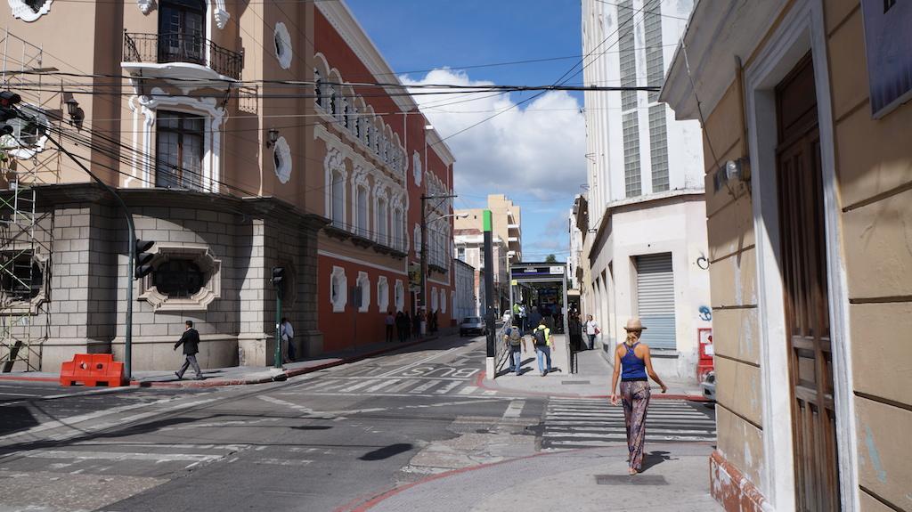 Walking the streets of Guatemala City...