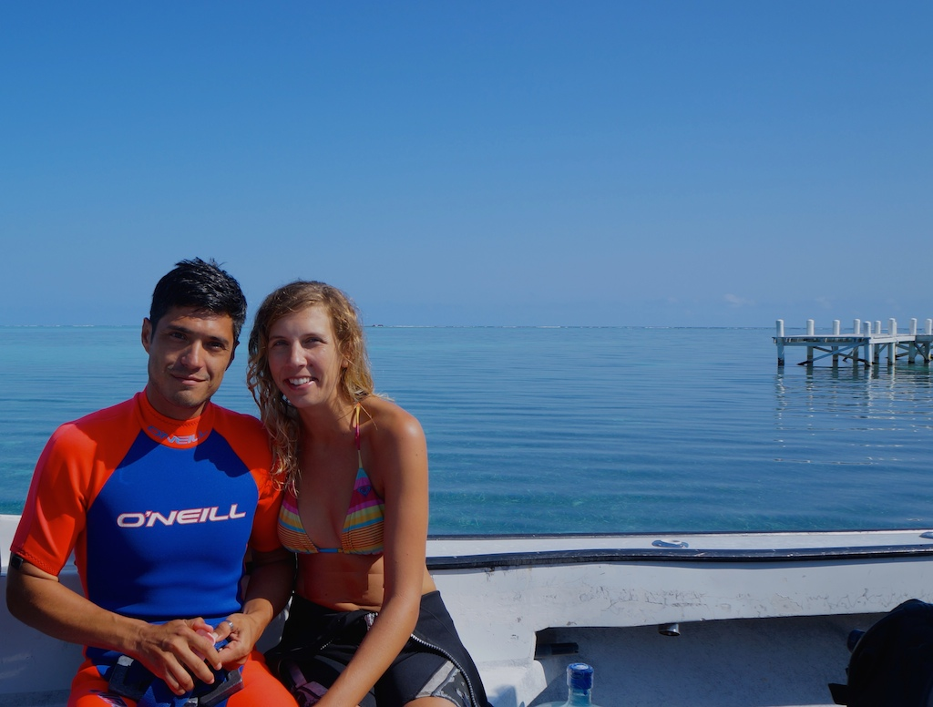 Diving the Big Hole of Belize part one