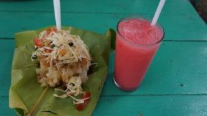 Traditional dish: Vigoron and Chicha