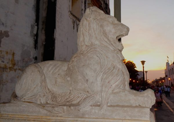 The Lion who gave the city its name