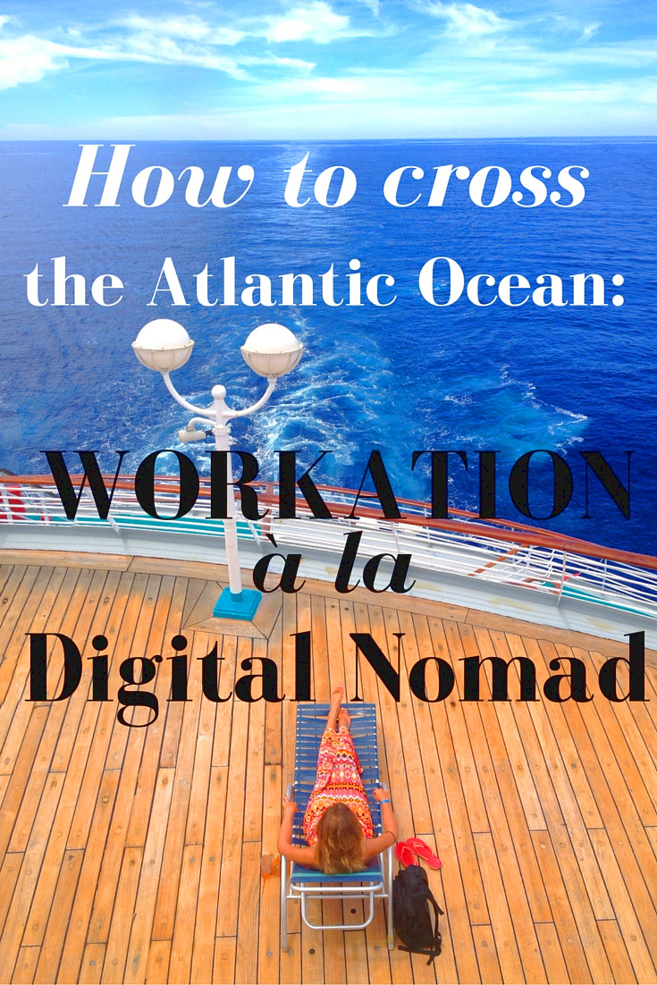 Workation on the Nomad Cruise.