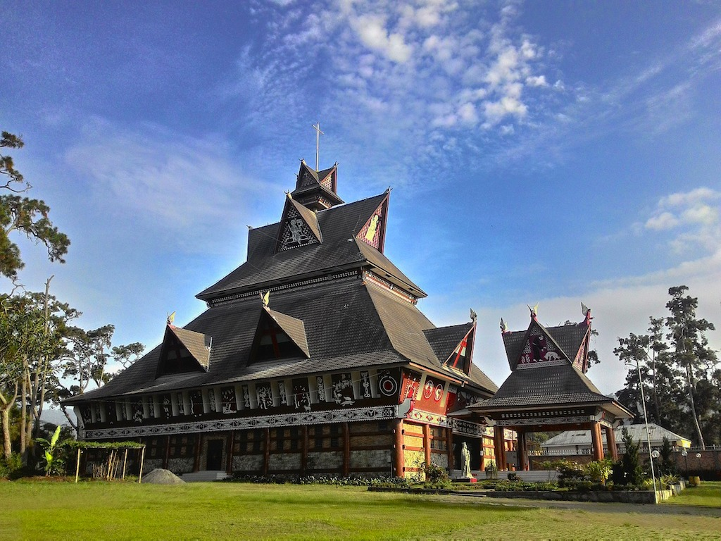 Shrine in North Sumatra