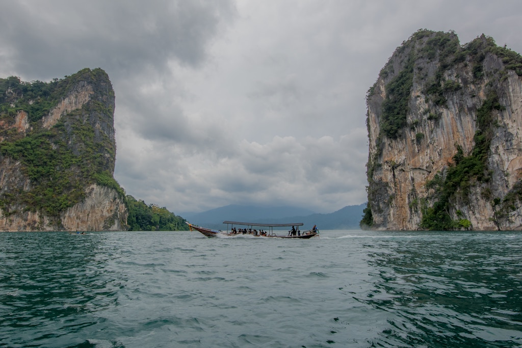 A boat trip to one of Thailand's beautiful islands.