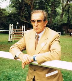 Raimondo d Inzeo při návštěvě Prahy 1993