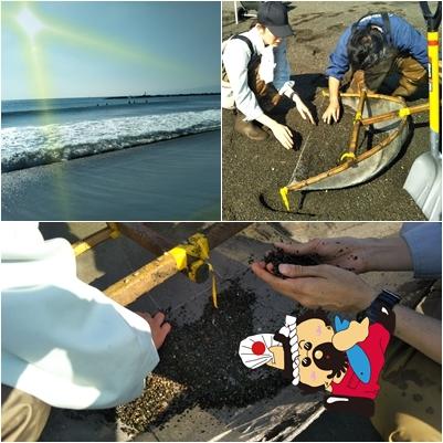 20181108地先の漁業資源調査