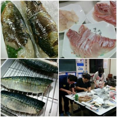 お魚を食べる会20160426