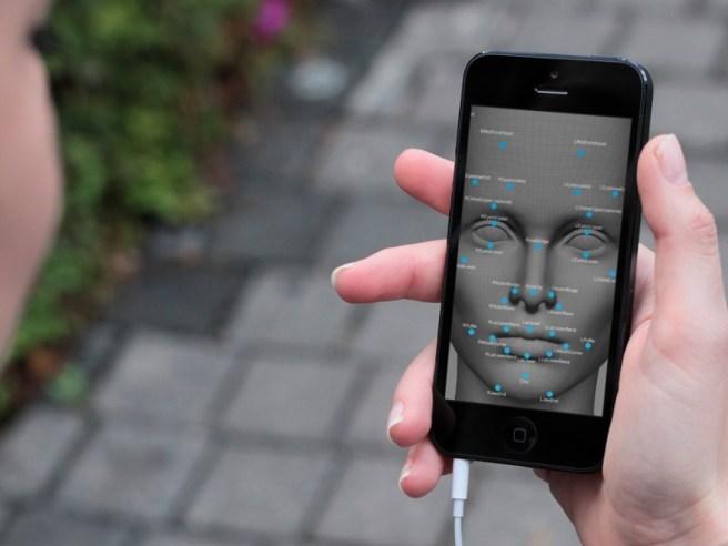 Figura 3. Reconocimiento facial.