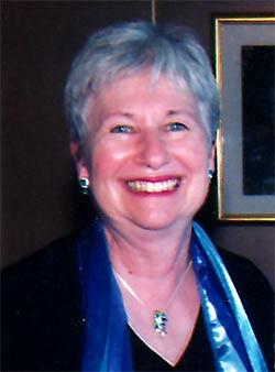 Above: Linda Kurtz, NCJW Board member; scholarship recipient