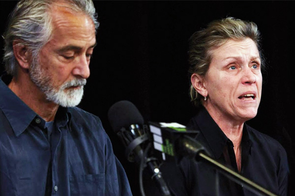 Frances McDormand and David Strathairn