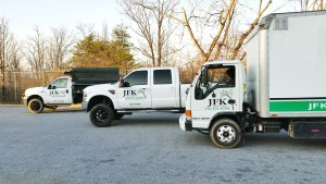 jfk lawn & landscaping trucks