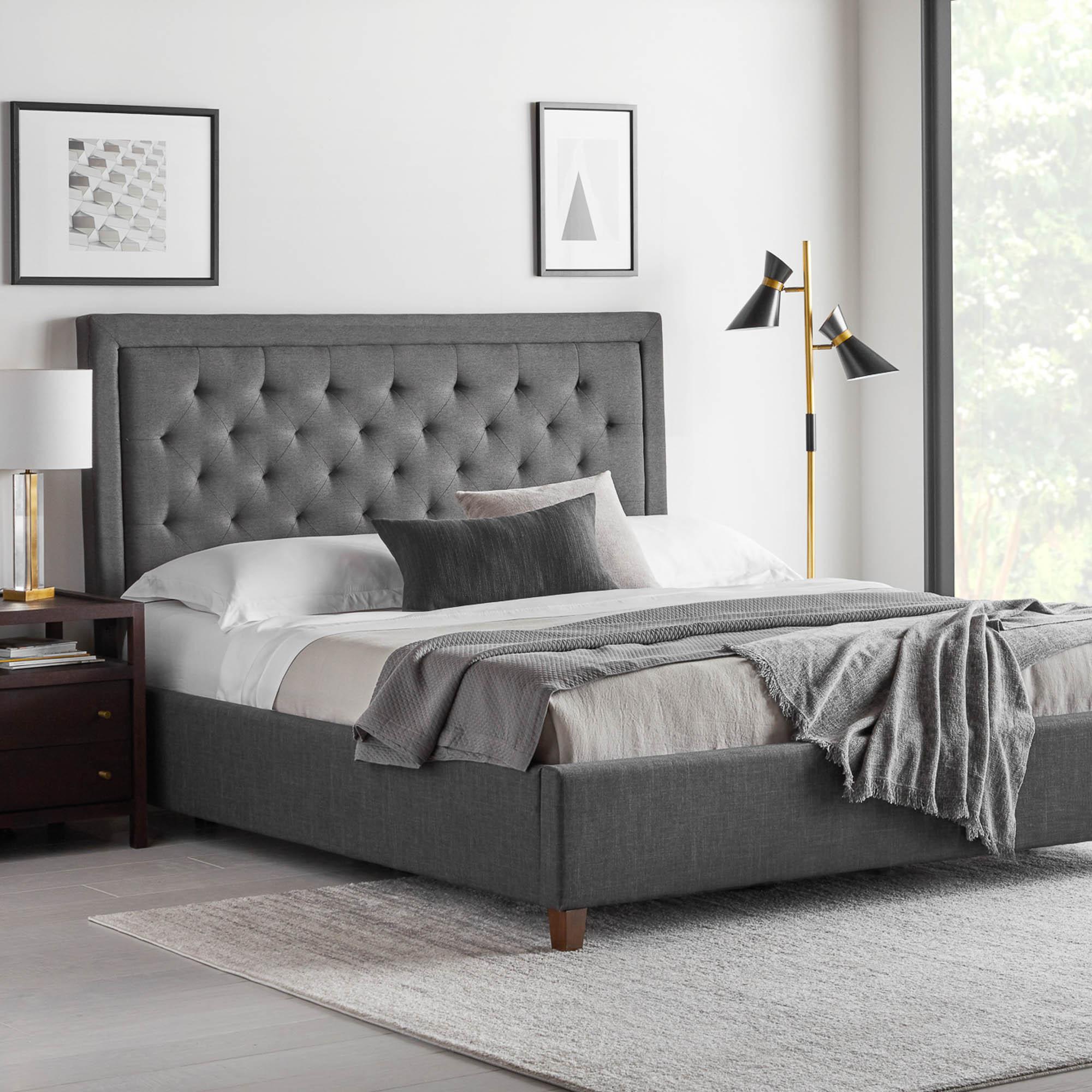eastman platform bed base 5 colors
