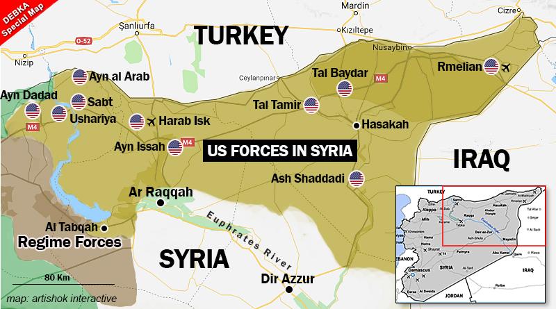 Αποτέλεσμα εικόνας για bases américaines syria
