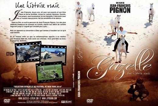 DVD Gazelle | Jean-François Pignon et ses chevaux en liberté