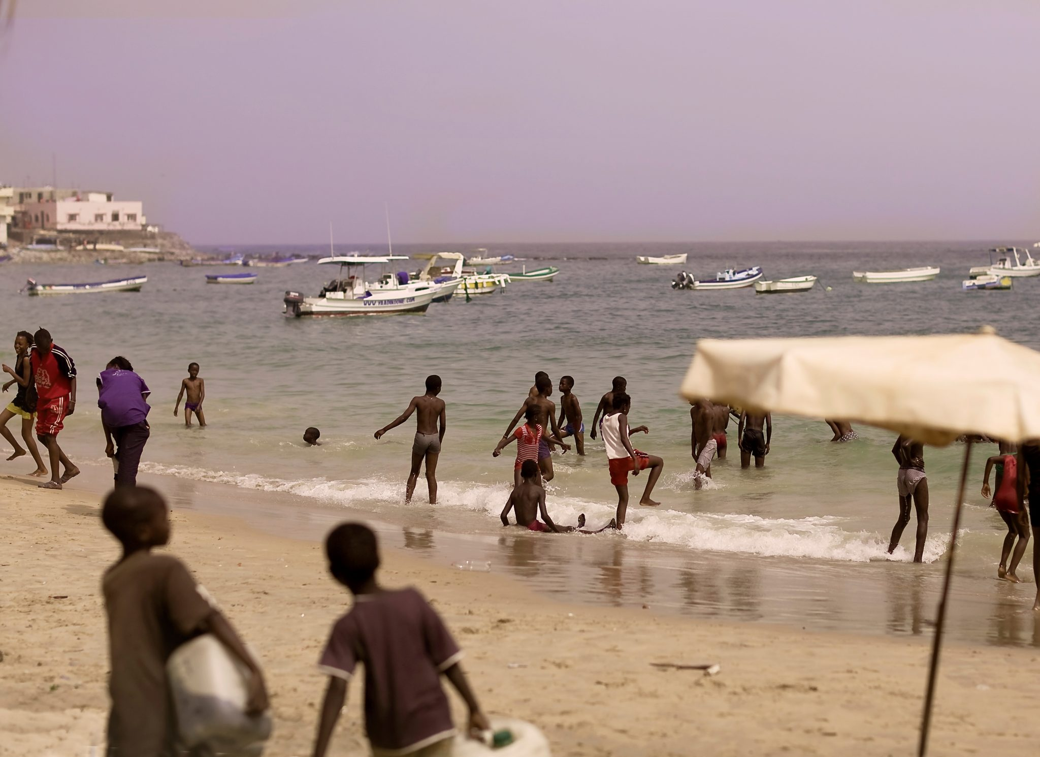 Outside the Terminal in Dakar