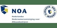 JG Stukadoor is NOA afbouw erkend
