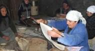 lavash making in Armenia