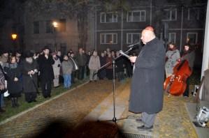 Gedenkveranstaltung zur Pogromnacht (Halle, 2011)
