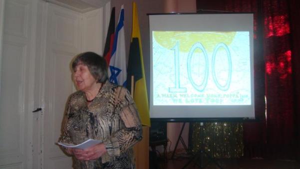 """Club Schalom """"100 Jahre Herr Unger"""""""