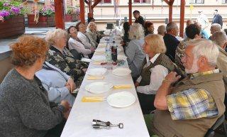 Geburtstag der Senioren Juni 2015