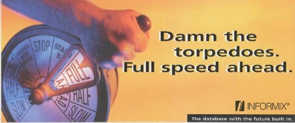 Damn the torpedoes! Full speed ahead! Go vote!