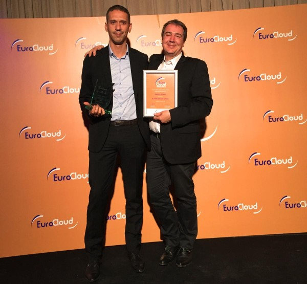 Simplicité Software receives Eurocloud award in 2015