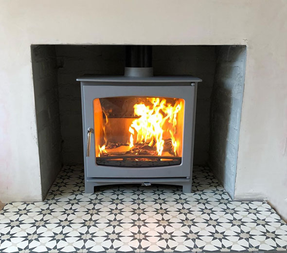 Ecosy Panoramic stove