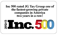 JG Tax Group Inc 500