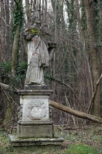 Statue des Heiligen Nepomuk, Naturpark DIE WÜSTE Mannersdorf