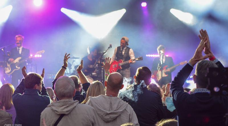 600 personnes au concert de Place aux Artistes
