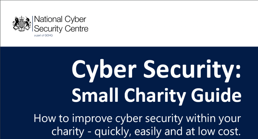 IT Security for Small Charities