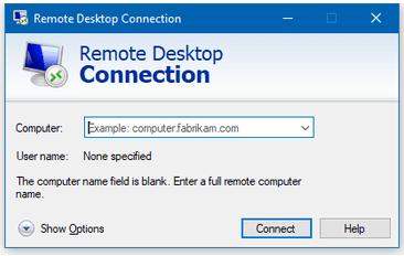 Microsoft Remote Desktop Connection Manager 2.7