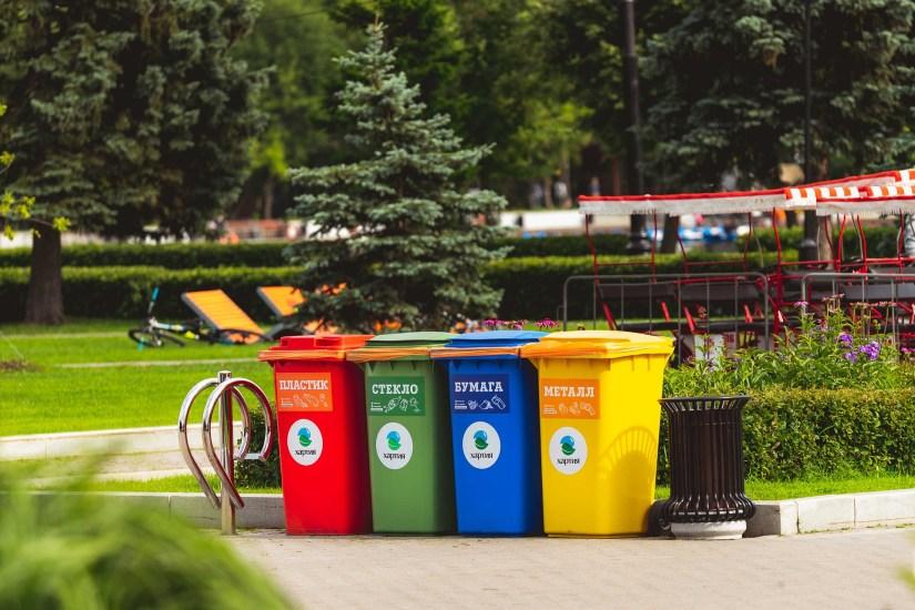 Customer Utilization, Not Just In A Digital World - Waste Bins Photo