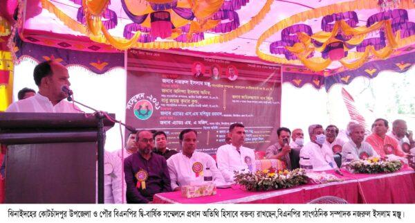 কোটচাঁদপুরে বিএনপি'র দ্বি-বার্ষিক সম্মেলন অনুষ্ঠিত