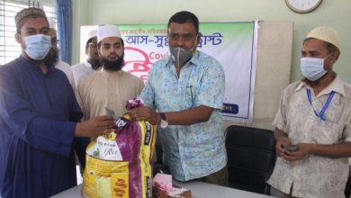Photo of ঝিনাইদহে মসজিদের ইমাম ও মুয়াজ্জিনদের মাঝে ইফতার বিতরণ