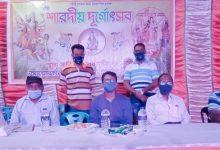 Photo of ঝিনাইদহ শৈলকুপার বিভিন্ন মন্দির পরিদর্শনে পুলিশ সুপার