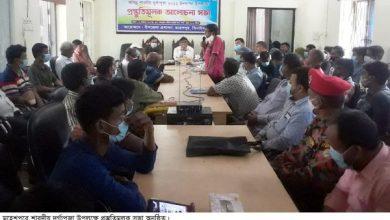 Photo of ঝিনাইদহ মহেশপুরে ৪৬টি পূজা মন্ডপে শারদীয় দূর্গা পূজা অনুষ্ঠিত হবে