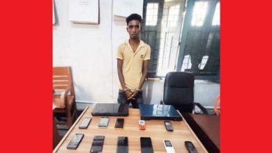 Photo of ঝিনাইদহ মোবাইল চোর সিন্ডিকেটের হোতা পুলিশের খাঁচায়/১১ মোবাইল-২ ল্যাপটপ উদ্ধার