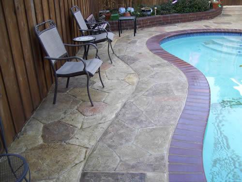 concrete services dallas decorative