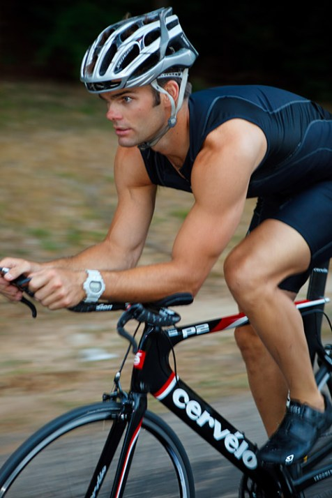 photo-shoot of Triathletes for the Bicycle Sport Shop