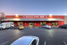Exterior photography of the Bicycle Sport Shop S. Lamar location