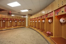 UT Football Lockeroom